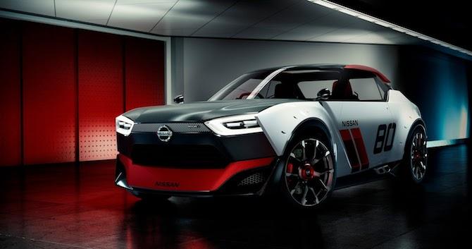 Nissan izrāda kolosālus retro stila konceptus IDx